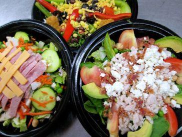 Grab and go salads